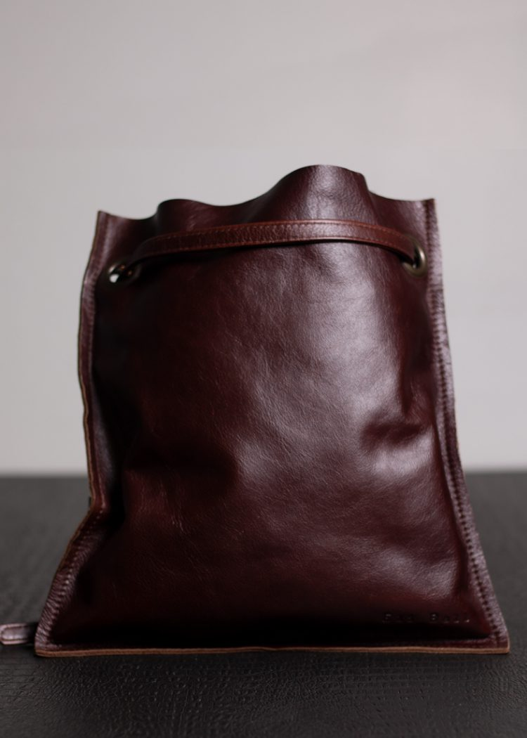 Brown Leather Manbag
