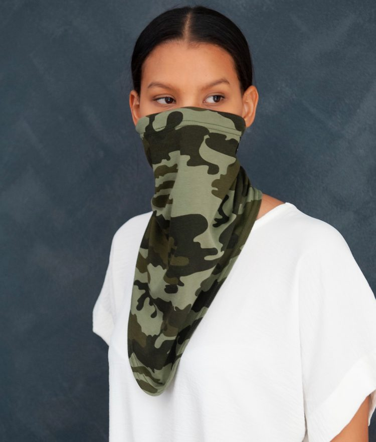 Camouflage Gaiters / Buffs Four Pack