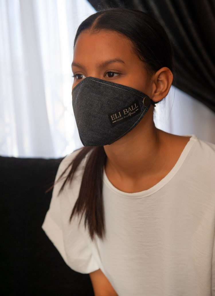 Denim Masks Pack of Four