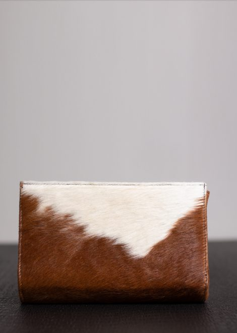 Brown Hide Clutch